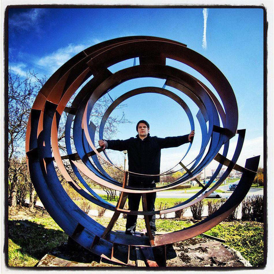 Spirala Kosmiczna w osiedlu Tysiąclecia